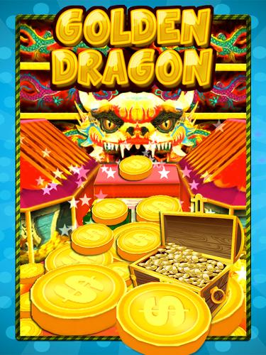Golden Dragon Coin Dozer Free