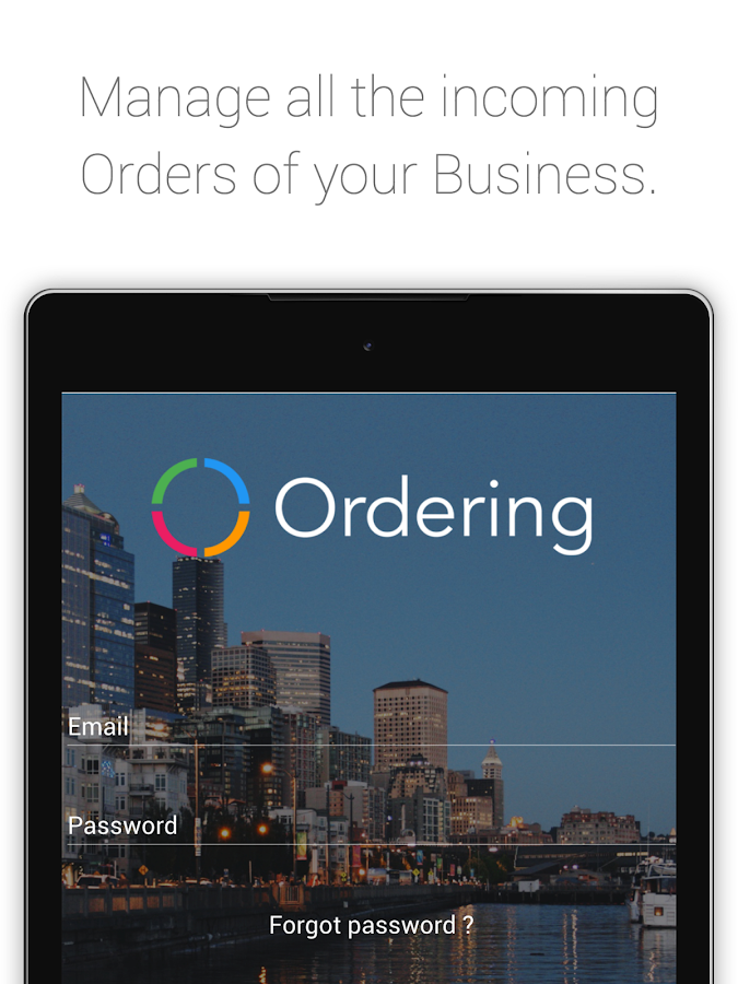 Business App- screenshot