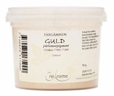 Guld pärlemorpigment