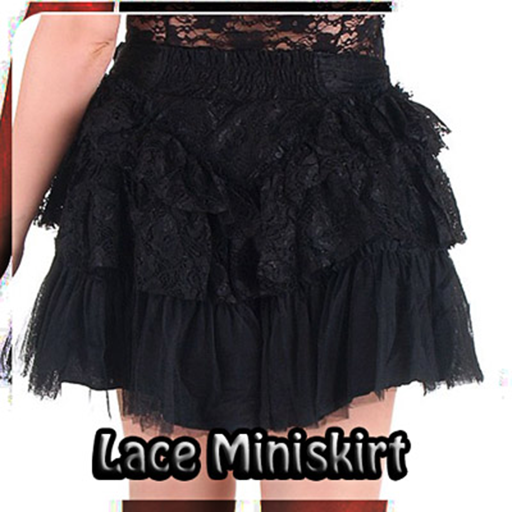 Lace Mini Skirt Design Appar (APK) gratis nedladdning för Android/PC/Windows