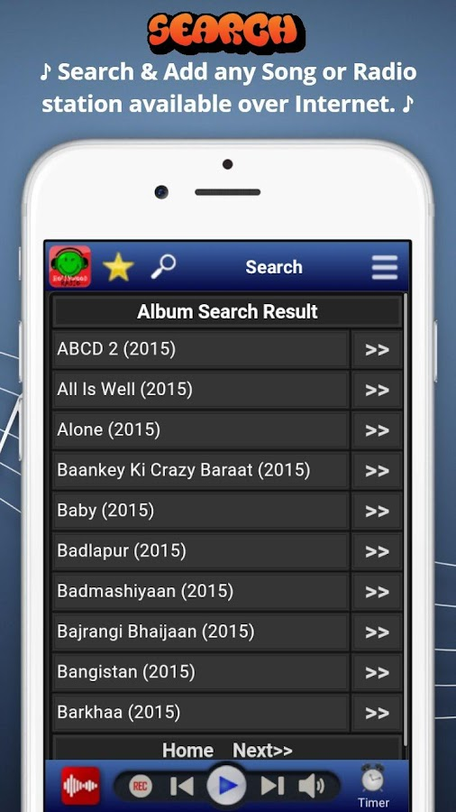 Bollywood Radio - Hindi Songs- screenshot