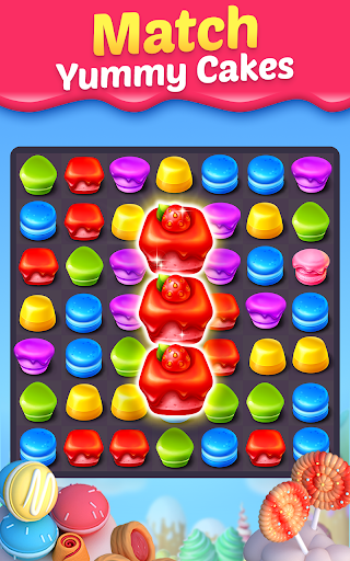 Cake Smash Mania - Swap and Match 3 Puzzle Game screenshots 7