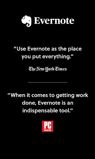 Evernote 8.11 screenshots 1