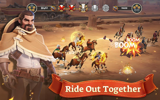 Wild West Heroes apktreat screenshots 2