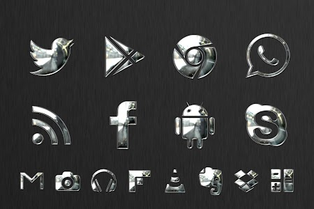 Krome Multi Lancher Icon Pack v1.3.0