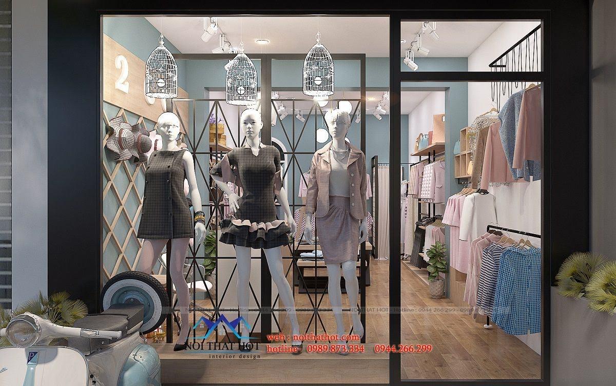thiết kế shop thời trang nữ 2ce 2