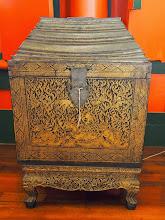 Photo: L'armoire à vêtements - Museum National de Bangkok