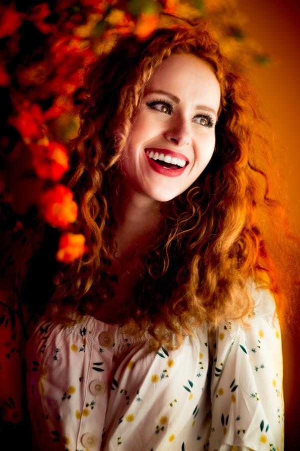 Natália Graziel by Gabriel Fox - People Portraits of Women ( redhead, beauty, happy, portrait, smile,  )