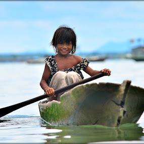 Rowing... by Azmi Han - Babies & Children Children Candids