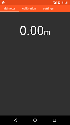 Hiking Altimeter