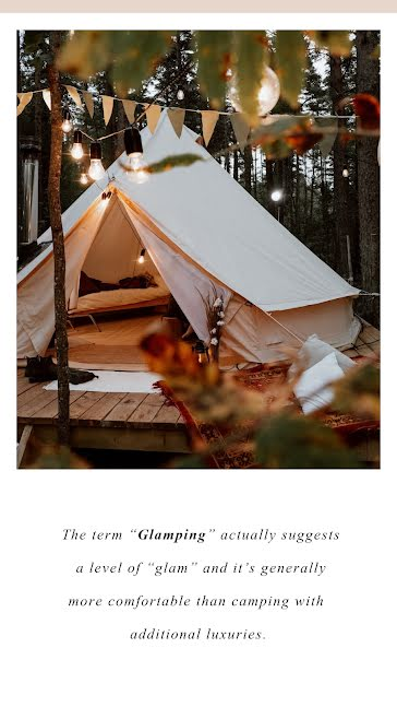 Glamping Term - Instagram Story template