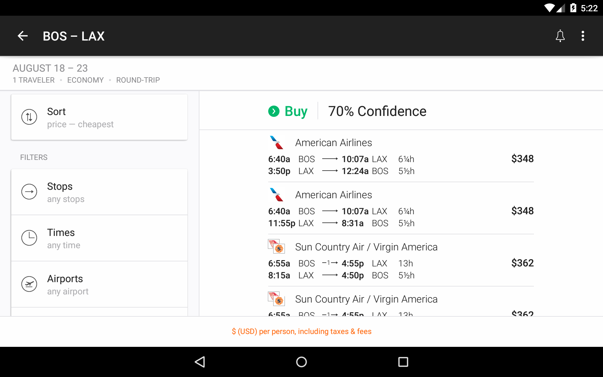 KAYAK Flights, Hotels & Cars screenshot #16