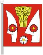 Photo: Címeres zászló színes rajza