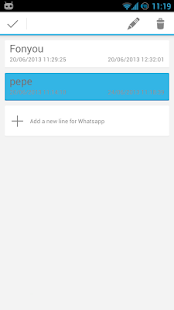 2Lines for WhatsApp- screenshot thumbnail
