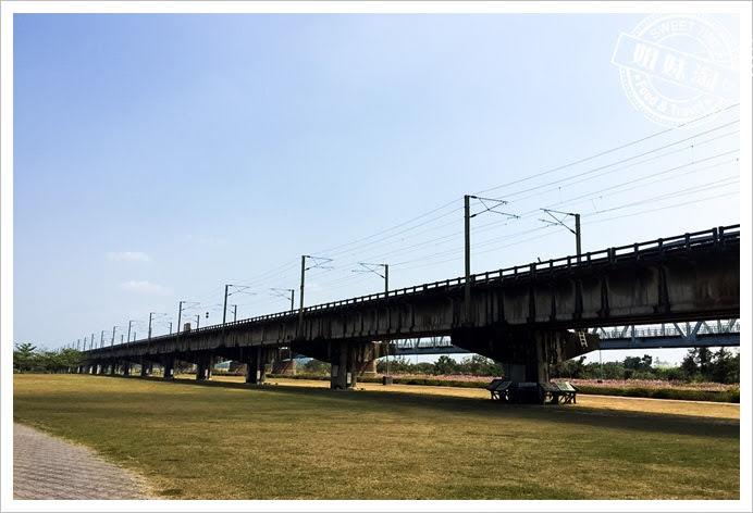 舊鐵橋濕地公園鐵橋