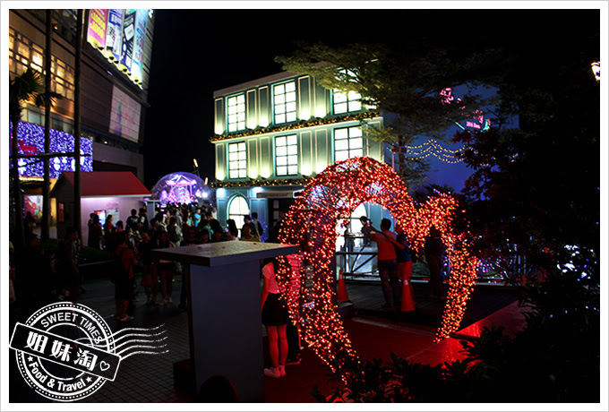 2016夢時代愛Sharing聖誕節真愛告白心型舞台2