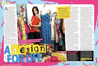 Photo: Feb 2009 - viva girl mag - A Design For Life