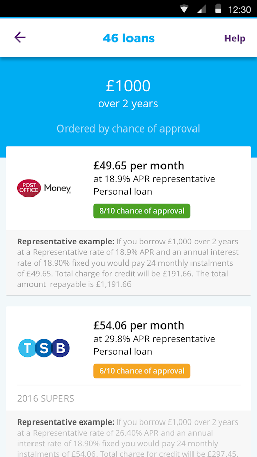 Moneysupermarket Go Android Apps On Google Play