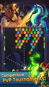 LightSlinger Heroes: Puzzle RPG Apk Download For Android and Iphone 4