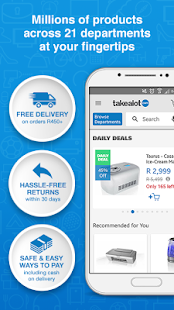 Takealot Online Shopping App - náhled
