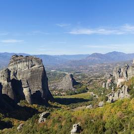 Meteora by Baggelis Karaliolios Zerofive - Landscapes Mountains & Hills