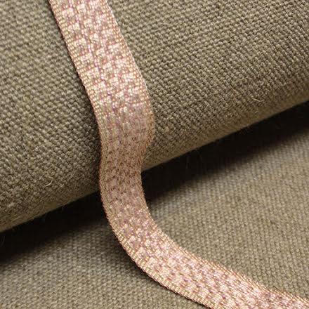 Möbelband Bomull - ljusrosa