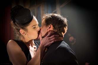 Photo: Arden Leigh as Audrey and Charlie Wilson as Laurence in Lovecraft in Brooklyn.  Photo ©2013 Michael Blase