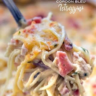 Chicken Cordon Bleu Tetrazzini.