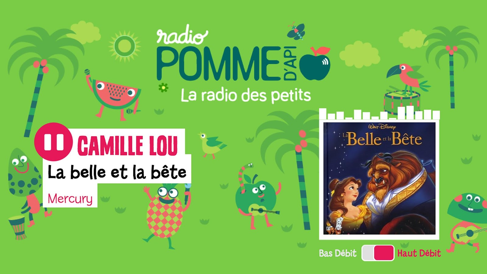 Radio Pomme d'Api- screenshot