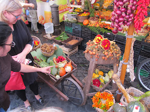 Photo: Market at Campo dè Fiori