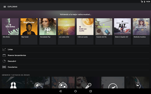 Spotify Music para Android