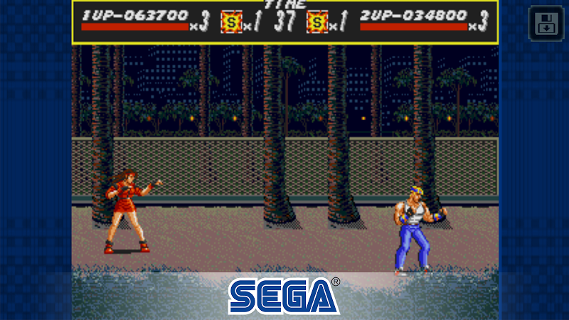 Streets of Rage Classic Screenshot 3