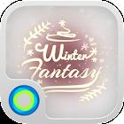 Зимние фантазии Hola Тема icon