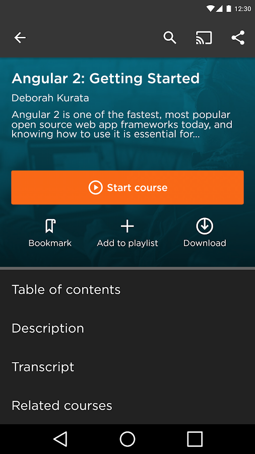 Pluralsight- screenshot