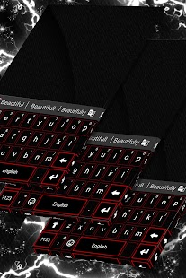 Free Glow Theme for Keyboard - náhled