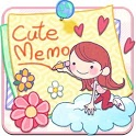 Cute Memo: Cloud Sticky Notes icon