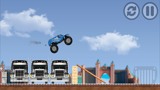 Monster Pickup Truck the monster jam kids games 7.8 screenshots 2