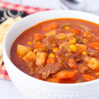 Instant Pot Vegetable Beef Soup.