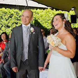 Edward and Anabela's wedding by Gavin Smith - Wedding Ceremony ( happy, wedding, ceremony, bride, groom )
