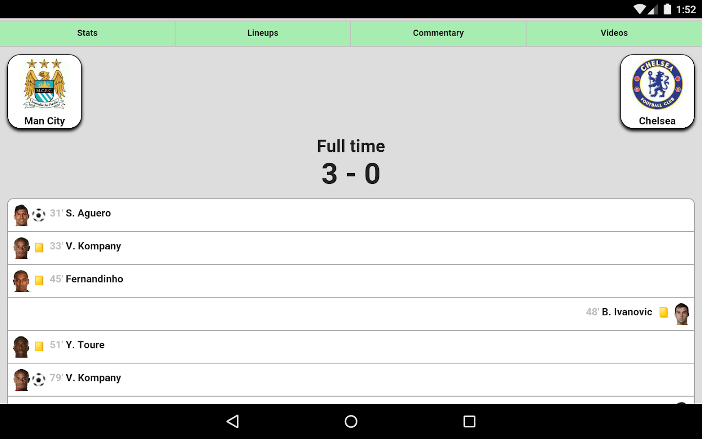 Futbol24 Android Apps On Google Play - Football live scores screenshot