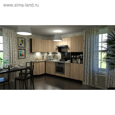 Кухонный гарнитур Симона гранд прайм 2600*1400