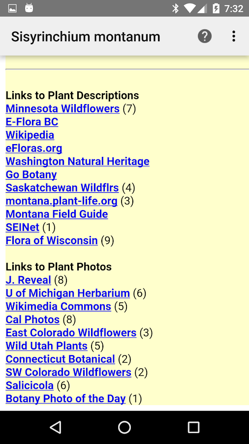 North Dakota Wildflowers- screenshot