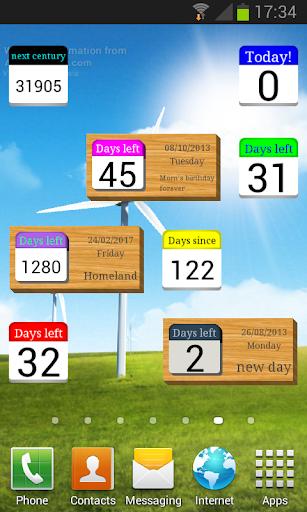 Days Left (countdown timer) screenshot 1