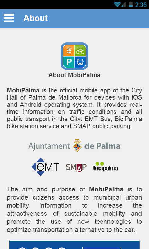 MobiPalma- screenshot
