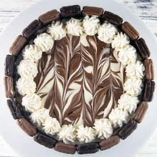 Tim Tam No Bake Cheesecake.