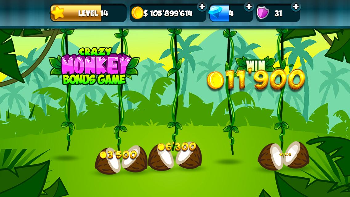 Crazy monkey slot online free