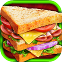 Lunch Food: Sandwich Maker icon