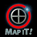 Map It!  Address & Coordinates icon