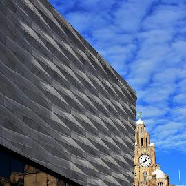 Love  for  Liverpool by Gordon Simpson - City,  Street & Park  Vistas