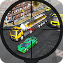 Sniper Gun 3D New City Wanted: Free Shooting Games icon